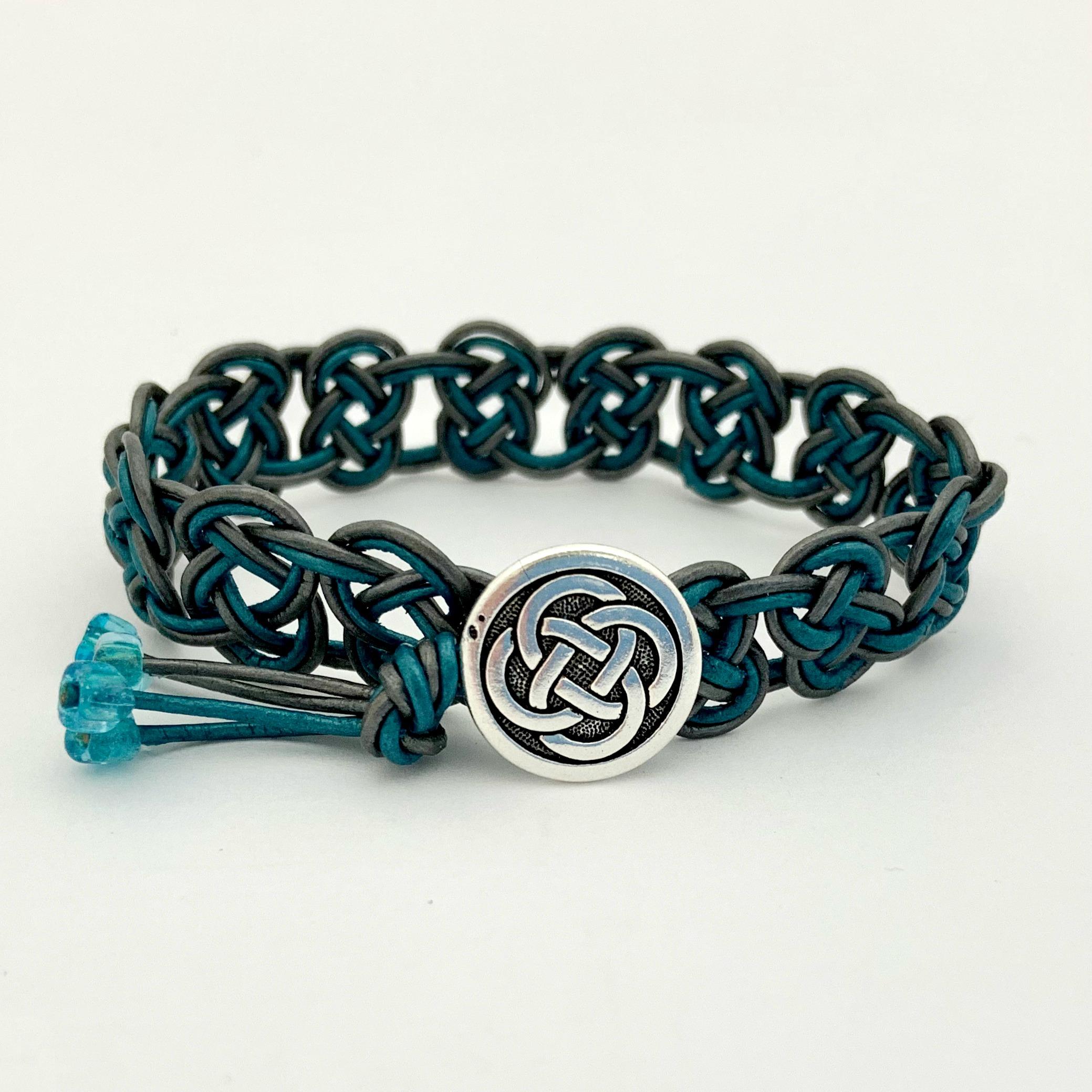 Celtic Knot Bracelet Kit 2 Strand Let S Bead